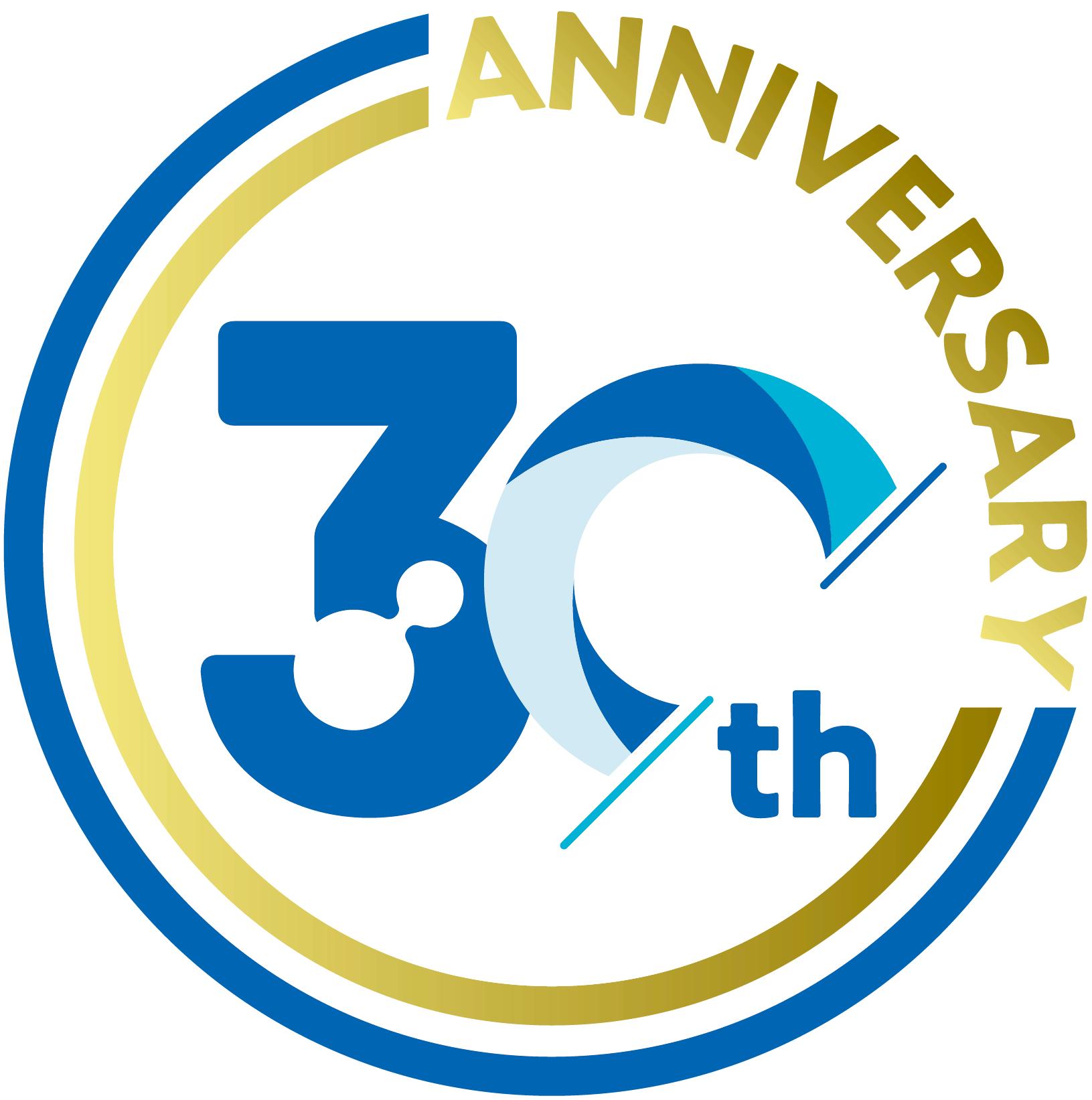 テクニカ30周年記念ロゴ